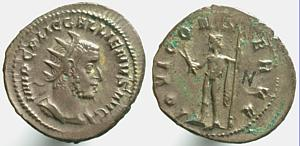 Antoniniano de Galieno. IOVI CONSERVA. Roma Erf_ri1247t