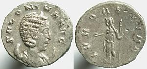 Antoniniano de Salonina. IVNO REGINA. Roma Erf_ri1307t