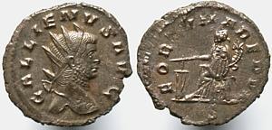 Antoniniano de Galieno. FORTVNA REDVX. Roma Erf_ri1314t