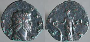 Antoniniano de Galieno. FORTVNA REDVX. Roma Erf_ri1723t