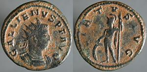 Antoniniano de Galieno. VIRTVS AVG. Antioquía Erf_ri1858t