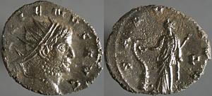 Antoniniano de Gallieno. SALVS AVG. Siscia. Erf_ri2370t