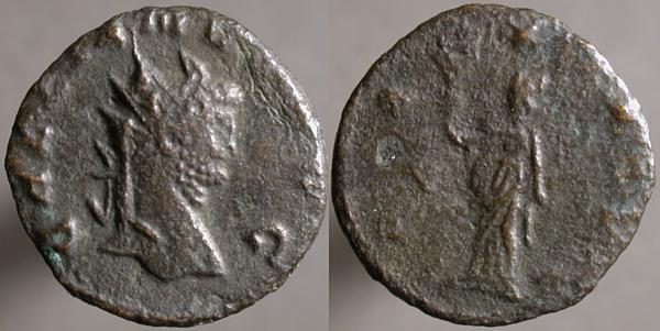 Antoniniano de Galieno. PAX AVG. Roma? Erf_ri3310
